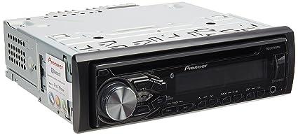 Pioneer DEH-X4850BT Negro 200W Bluetooth Receptor Multimedia para Coche - Radio para Coche (