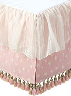 product image for Glenna Jean Crib Skirt Isabella Dust Ruffle for Baby Nursery Crib
