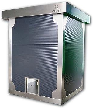 Cube fx henhouse L de lujo Gallinas Casa gallinero Aves Establo hühne rvoliere, inkl. Aufbau: Amazon.es: Hogar