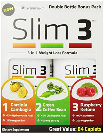 Amazon.com: Ciencia de la naturaleza Slim 3 Peso Suplemento ...