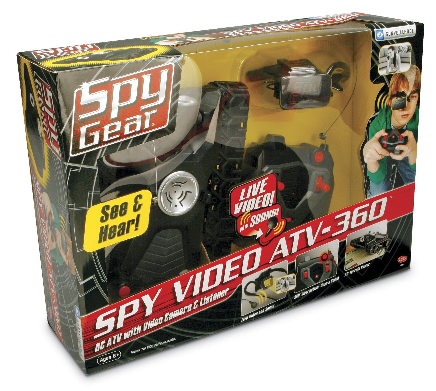 Wild Planet Spy Gear Spy Video ATV-360 by Wild Planet (Image #4)