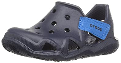 112c1ff8846e Crocs Unisex Kids  Swiftwater Wave K Closed Toe Sandals  Amazon.co ...