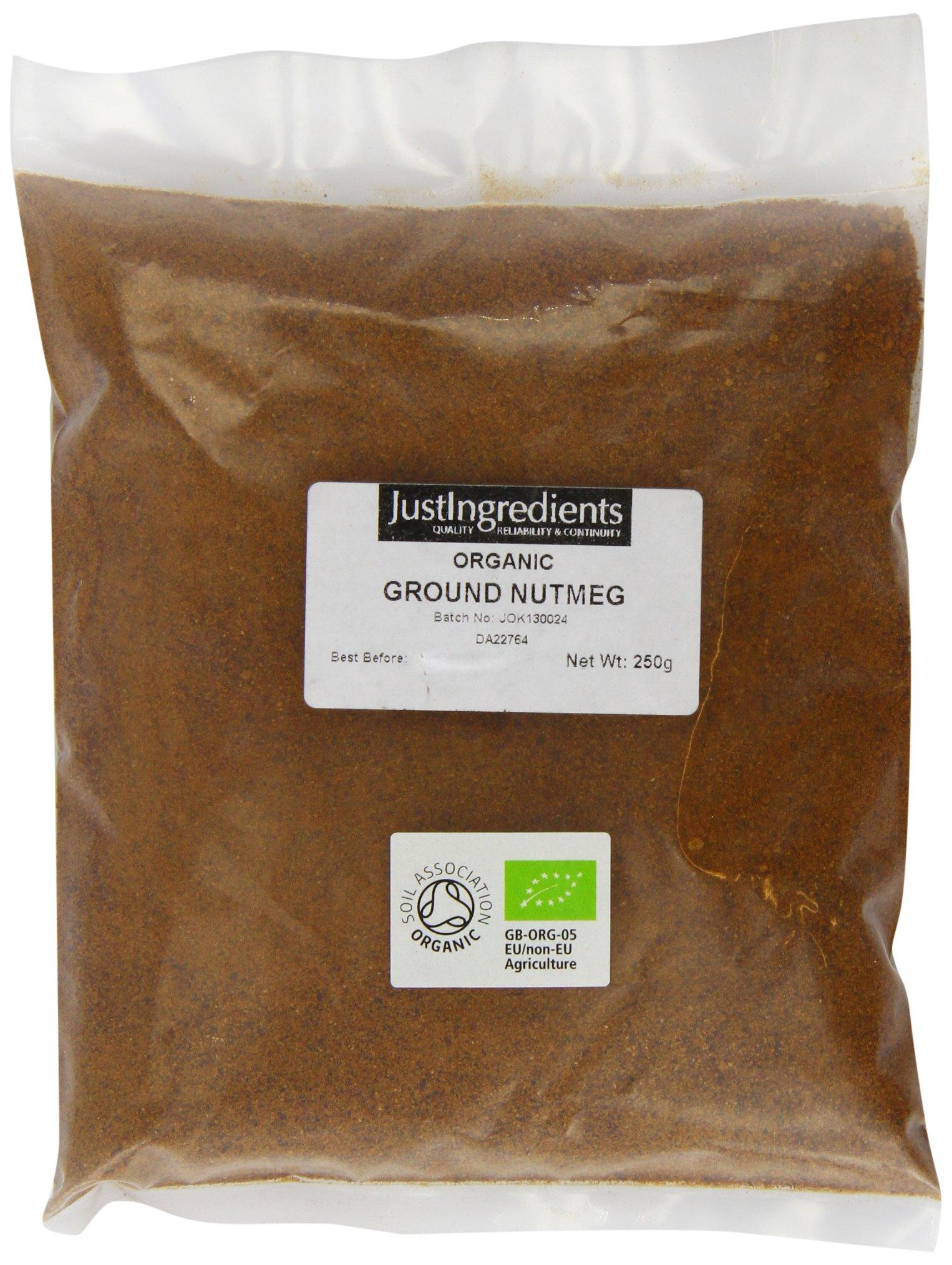 JustIngredients Organic Nutmeg Ground Loose 250 g