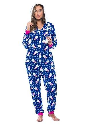 Amazon.com: Just Love Adult Onesie/Pajamas: Clothing