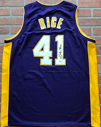7ddecd8023f Glen Rice Autographed Signed Jersey NBA Los Angeles Lakers PSA/DNA with COA  GMoney -