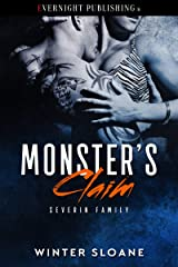 Monster's Claim (Severin Family Book 2) Kindle Edition