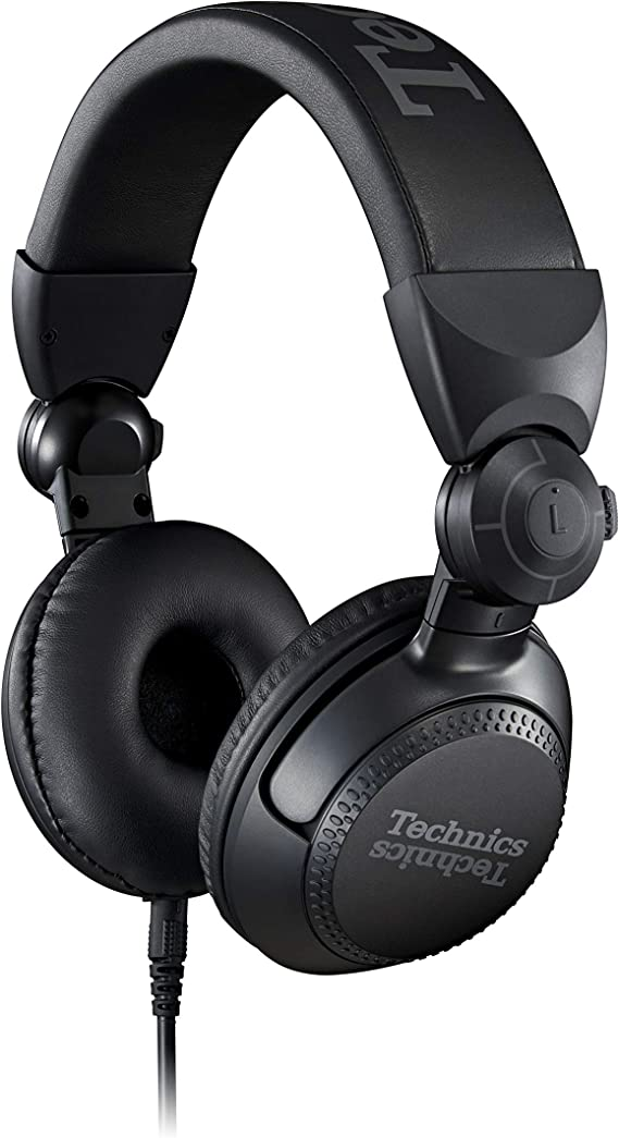 Technics Professional DJ Headphones with 40mm CCAW Voice Coil Drivers