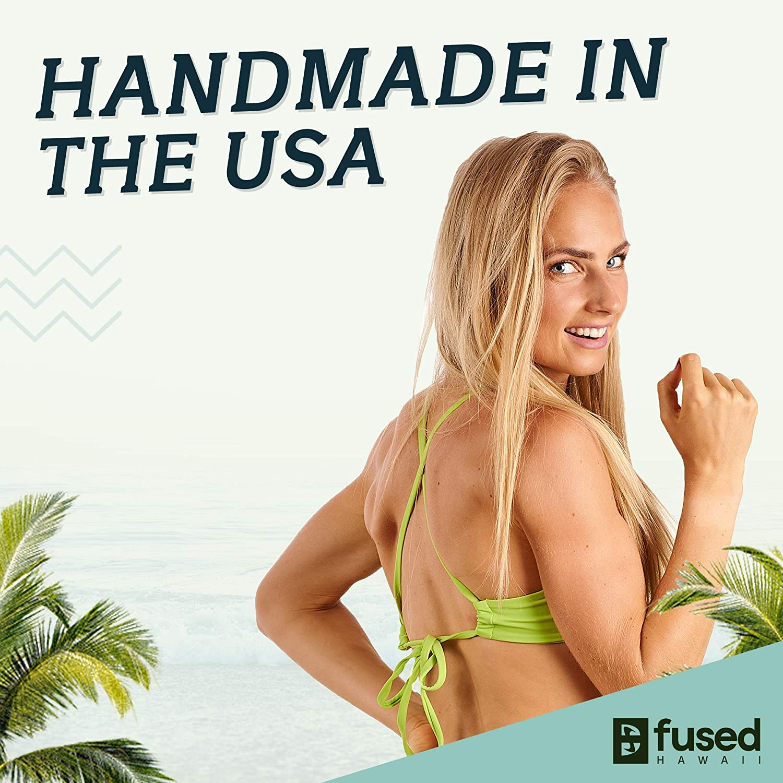 Kohanaiki Tops /& Kona Cheeky Bottoms Bikini Swimsuit Fused Hawaii Bikinis