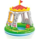 INTEX - Piscina Hinchable Castillo & Flor 122 x 122 cm - 74 l (57122)