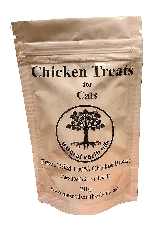 100% Chicken Treats 20g - natural earth oils