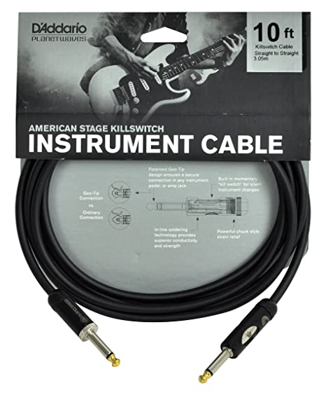 Planet Waves PW-AMSK-10 - Cable de instrumento