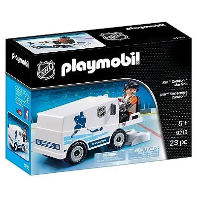 PLAYMOBIL 9213 NHL Zamboni Machine: Toys & Games