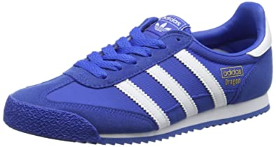 competitive price 89dcb c27a9 adidas Dragon OG, Baskets Basses Mixte Enfant, Bleu Footwear WhiteBlue,  35.5