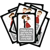 SYGA Set of 8 Exciting Lives Love Story Romantic Love Cards - Birthday, Anniversary Gift, pre Wedding Photo Shoot, Post Wedding Photoshoot
