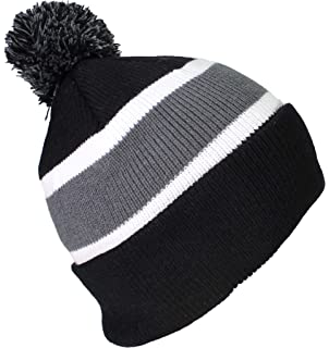9f0f0b49cfb Best Winter Hats Quality Cuffed Cap with Large Pom Pom (One Size)(Fits