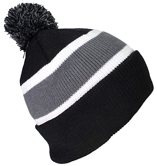 a26e79b2bdc2a Best Winter Hats Quality Cuffed Cap with Large Pom Pom (One Size)(Fits