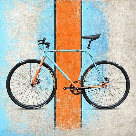 Daiquiri 700c Fixie C6 D - Bicicleta Urbana de una Sola Velocidad ...