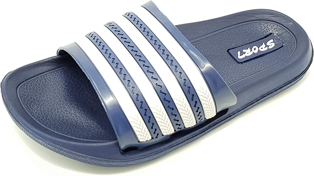 Adidas Duramo Slide Unisex Kids Flip Flops Boys Girls Pool Shoes Childs Sandals