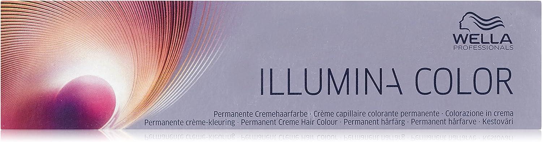 Wella Illumina pelo de color rubio claro 9/43, rojo y oro, 60 ml