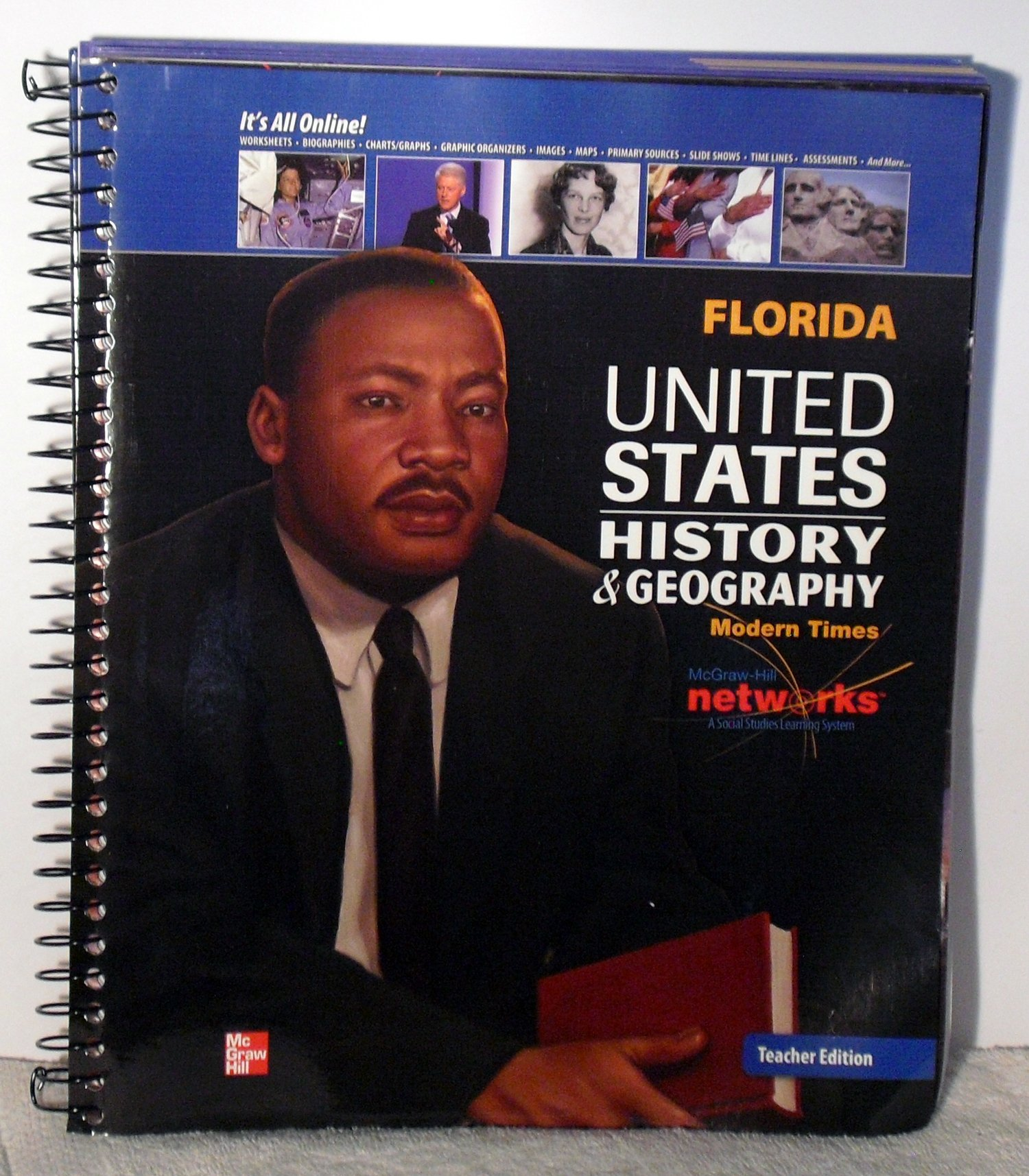 United States History & Geography: Modern Times, Florida Teacher Edition:  Appleby et al.: 9780076609444: Amazon.com: Books