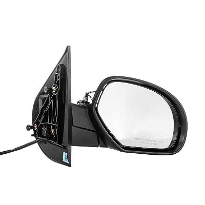 Right Passenger Heated Folding Power Operated Side Door Mirror for 07-13 Chevy Suburban, GMC Yukon - 07-14 Chevy Silverado, Chevy Tahoe - 2011-2014 GMC Sierra - GM1321336: Automotive