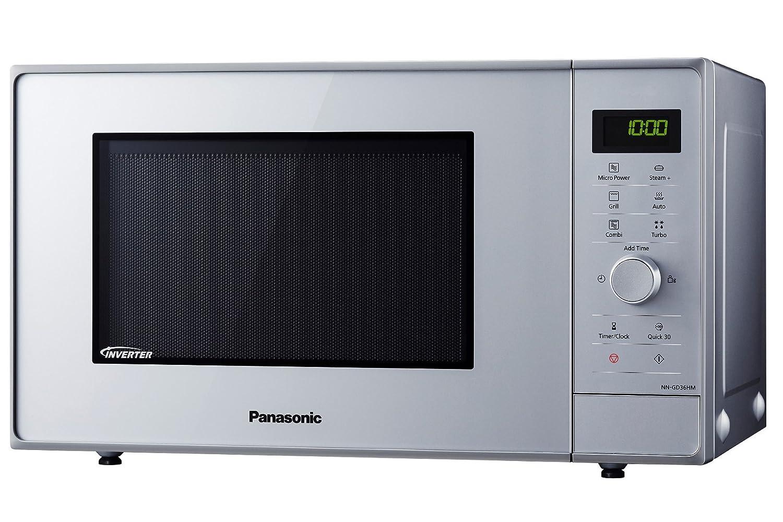 Panasonic NN-GD36HMSUG Horno microondas Inverter color plata plateado: Amazon.es: Hogar