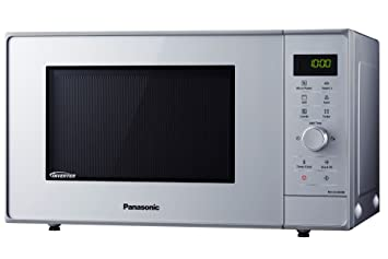Panasonic NN-GD36HMSUG - Horno microondas Inverter, 23 l, 1000 W, accesorio