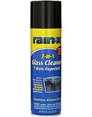 Rain-X 5080233 Limpiador Vidrios con Tratamiento Antilluvia en Aerosol 2 en 1