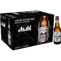 Asahi Super Dry Beer Bottles, 330 ml (Pack of 24)
