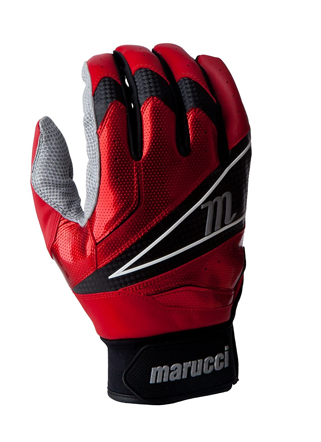 Marucci 2014 ELITE Batting Gloves B00EUBCY7W XL|レッド レッド XL