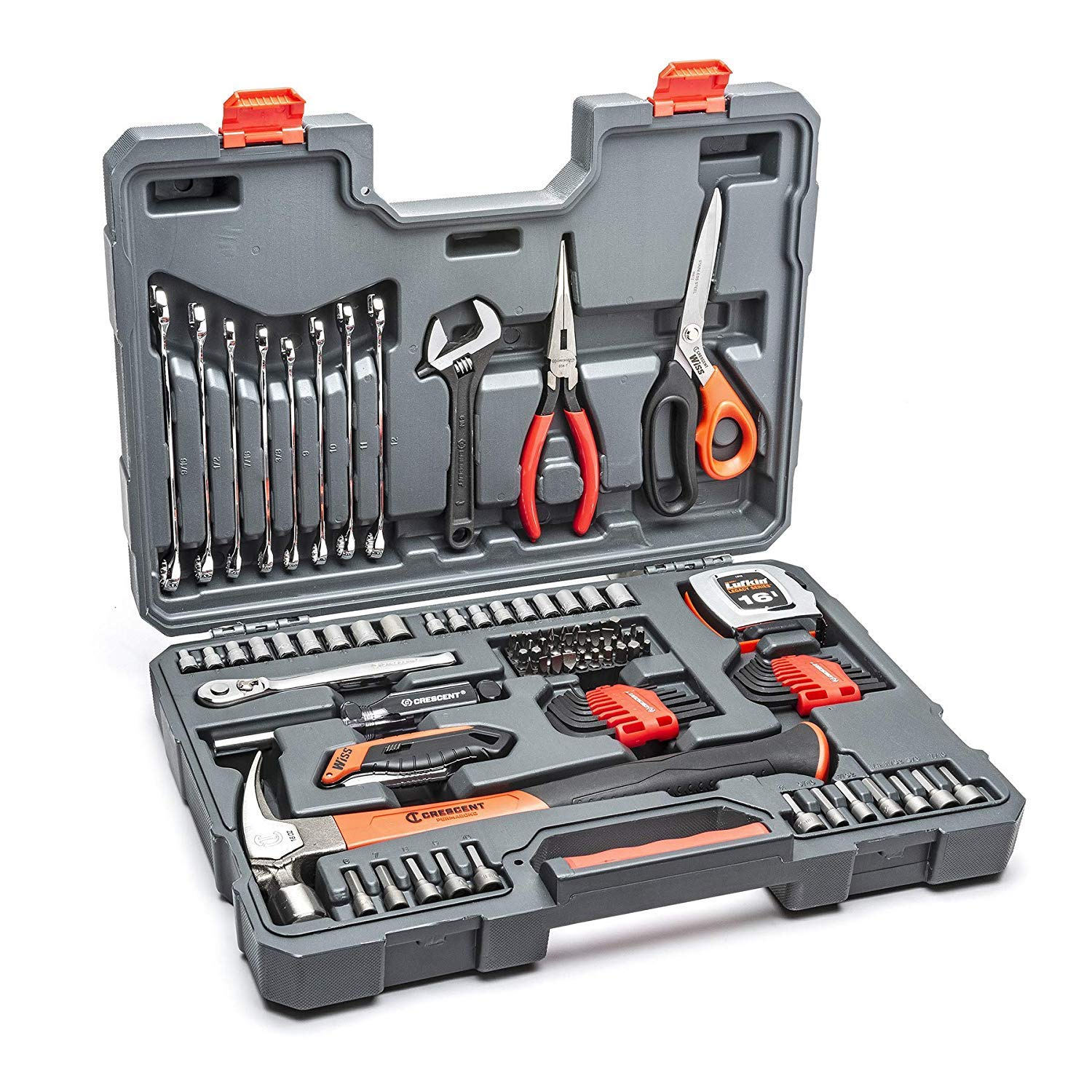 Crescent CTK101 101-Piece General Purpose Tool Set, SAE & Metric