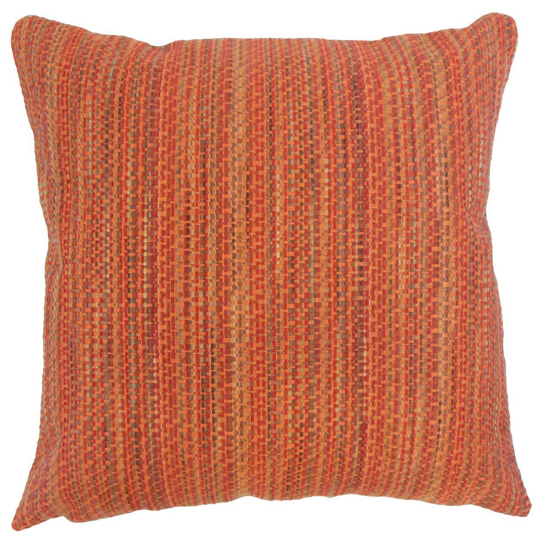 The Pillow Collection Raith Stripes Bedding Sham Tamale Queen//20 x 30