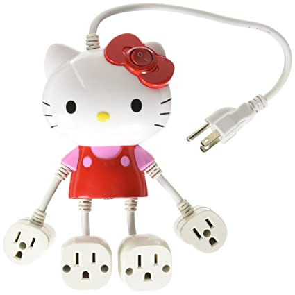 Review Hello Kitty Molded 4-Outlet