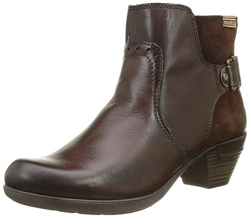 df380ab9 Pikolinos Rotterdam, Botas de Piel para Mujer, Marrón (Olmo Edf):  Amazon.es: Zapatos y complementos