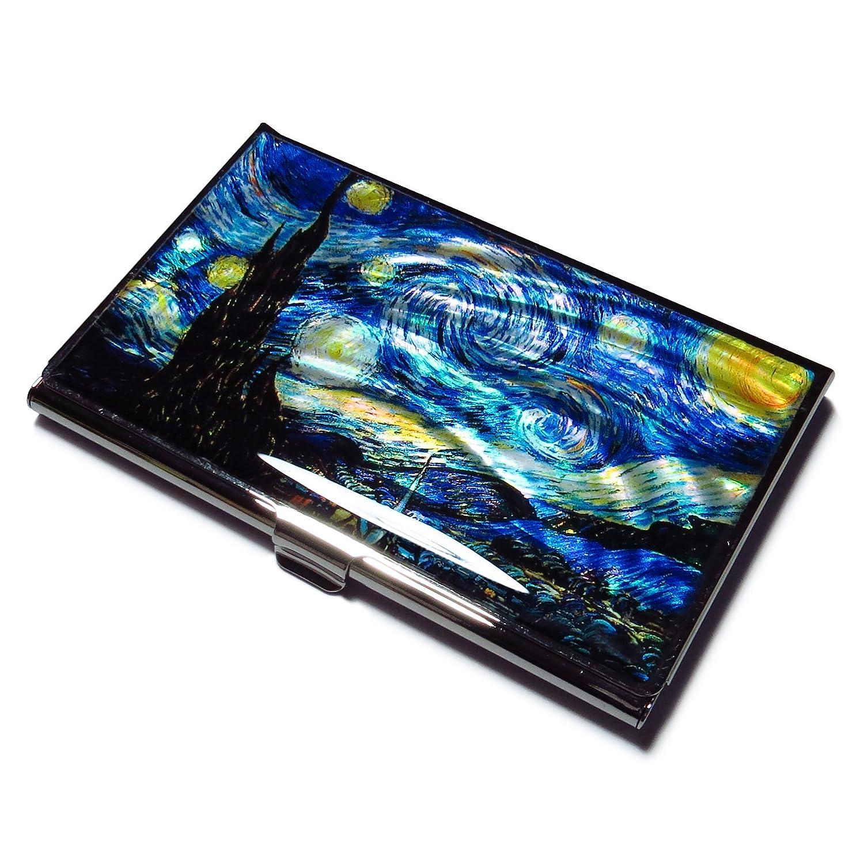 53068f7e3d81 Mua sản phẩm Vincent Van Gogh the Starry Night Blue Business Credit ...