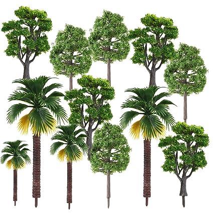 Amazon com: AnyBack Model Trees, Miniature Trees, Rainforest Trees