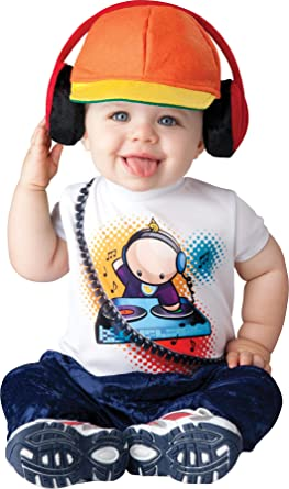 uhc baby boys beat radio dj rapper outfit infant toddler halloween costume