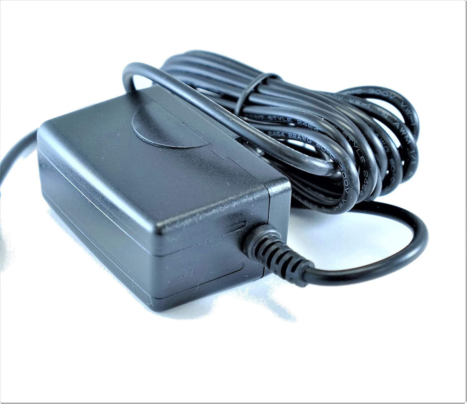 UL Listed 12V 1A 1000mA OMNIHIL 8 Feet Long AC//DC Adapter with 5.5 mm x 2.1 mm Plug Size