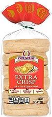 Oroweat Extra Crisp English Muffins, 6 count, 12.5 oz