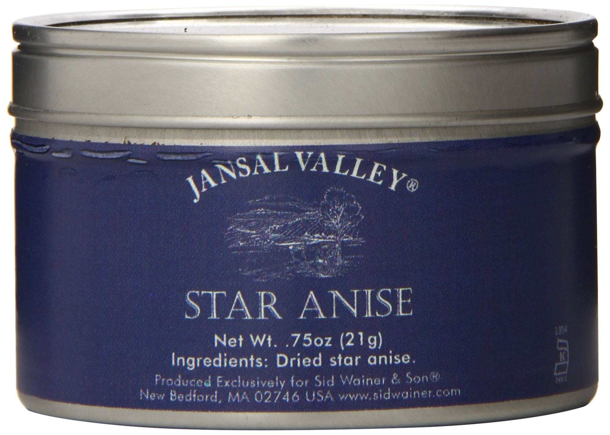 Jansal Valley Star Anise, 0.75 Ounce (Pack of 6)