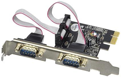 Siig JJ-E02111-S1 - Tarjeta de Puerto Serie (PCIe, 2 x RS232 ...