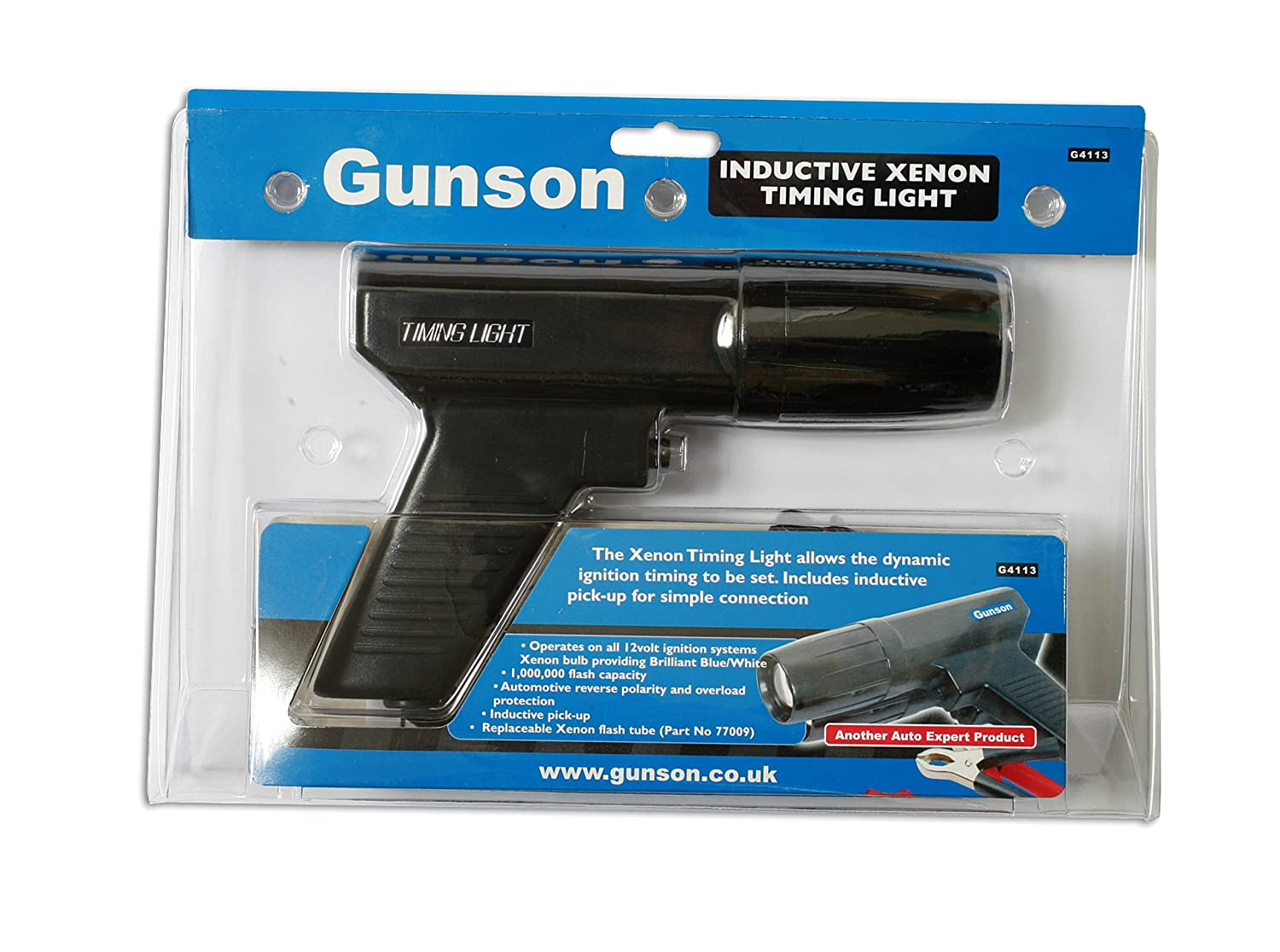 Gunson G4113 Timestrobe Xenon Timing Light: Amazon.co.uk: Car ...