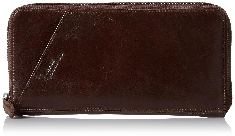 One Size FN2000 Brown Derek Alexander Passport Travel Wallet