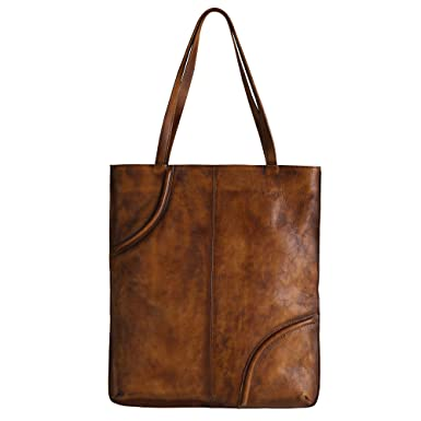 f6db329ad08 Image Unavailable. Image not available for. Color  DreamHorse Women Handbag  Tote Genuine Leather Vintage Shoulder Bag Large ...
