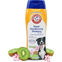 Arm & Hammer Super Deodorizing Shampoo for Dogs - Odor Eliminating, Best Dog Shampoo for Smelly Dogs & Puppies - Kiwi…
