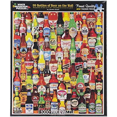 White Mountain Puzzles 99 Bottles of Beer on The Wall - 1000 Piece Jigsaw Puzzle