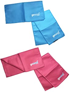 GoCool by Mission Instant Cooling Towel and Wrap Sets