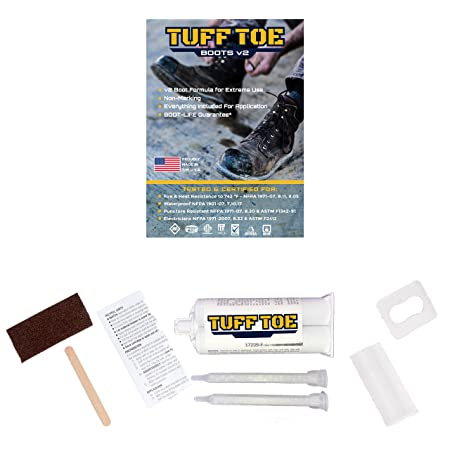 Tuff Toe Boot Heavy Duty Protector Guard Shoe Repair Glue