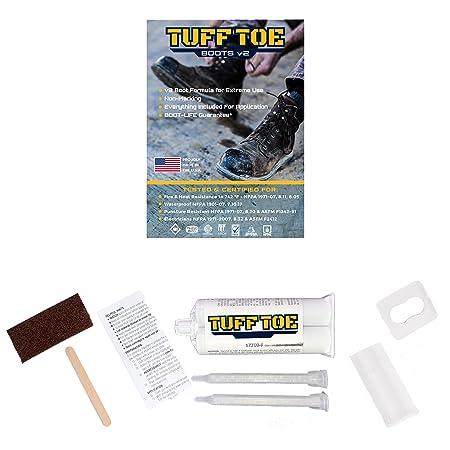Tuff Toe Boot Heavy Duty Protector Guard Shoe Repair Glue