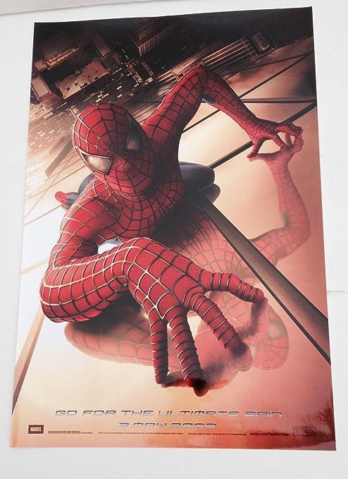 2002 2001 The Amazing Spider Man Movie Poster Spiderman